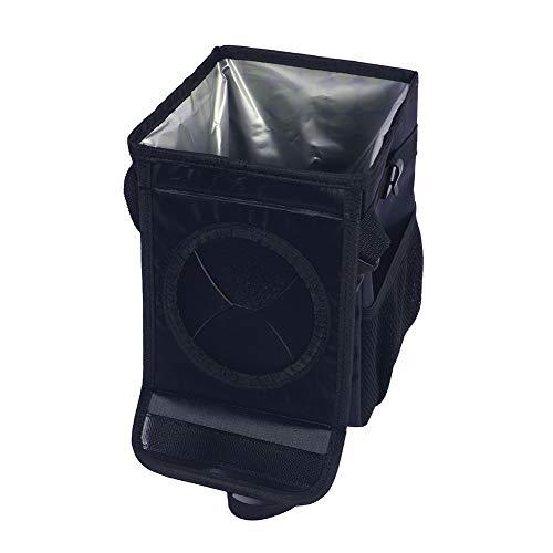 CBA BING Auto Mülleimer Mit Deckel Aufbewahrungsfächer Zusammenklappbar Und Tragbarer Auto Mülleimer Wasserdichter Auto-Müllsack General Motors Mülleimer