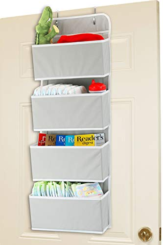 4 Pocket Over the Door Hanging Organize