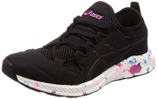 Asics Hypergel-sai, Zapatillas de Running, Negro (Black/Pink Glow 001), 35.5 EU