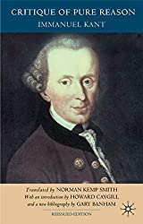 Book cover: Critique of Pure Reason by Immanuel Kant
