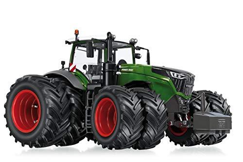 Wiking 077830 Fendt 1050 Vario Modelltraktor mit Zwillingsreifen, 1:32, Metall/Kunststoff, Ab 14 Jahre, Viele Funktionen, Wechselbare Räder, Motorhaube zum Öffnen