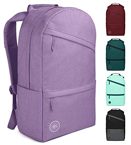 Simple Modern Legacy Backpack with Laptop Compartment Sleeve - 25L Travel Bag for Men & Women College Work School -Lilac