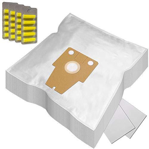 PakTrade XXL Pack - 20 Duftstäbchen + 20 Staubsaugerbeutel geeignet für Bosch BSG81466/14 Ergomaxx Professional Compressor Technology Hepa