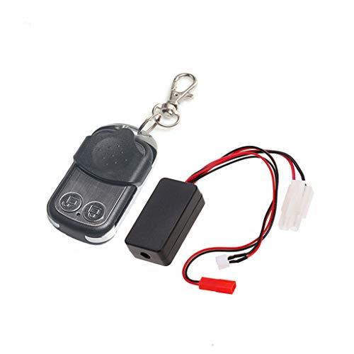 Gjyia Funkfernbedienungsempfänger für 1/10 RC Crawler Auto Axial SCX10 TRX4 D90 TF2 Tamiya CC01 Automatische Seilwinde Ersatzteile