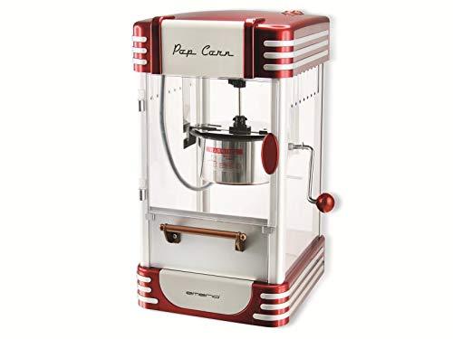 emerio Machine à Pop-Corn POM-120650, récipient antiadhésif, Convient également pour Les Pop-Corn sucrés ou salés, 360 W