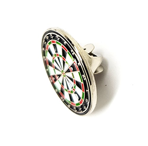 Metal Enamel Pin Badge Brooch Darts Dartboard (Dart board)