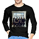 Photo de Periphery Music Band Men's Round Neck Long Sleeve T Shirts Graphic Tees Shirts Tops Custom Tshirts