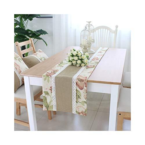 WXIAO tafelloper, modern, decoratie voor thuis, partygeschenk, bed, eiken, dubbeldeken