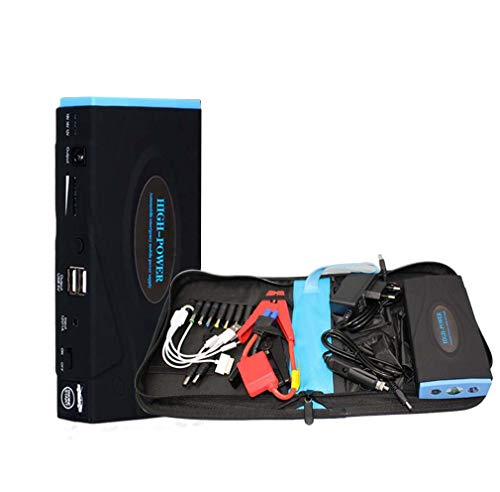 Fantastic Prices! Car Jump Starter 600A 16800Mah Portable 12V Emergency Battery Booster Pack with Du...