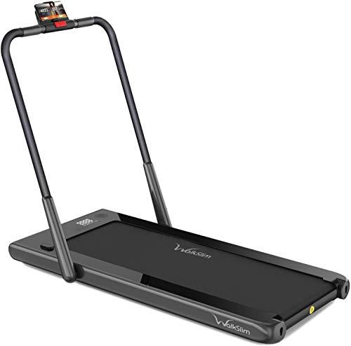 WalkSlim NEW 540 Best Home Walking Treadmill | Best Running Machine for Home | Foldable Treadmill | Max Speed 12km/h, Home Treadmill (Black)
