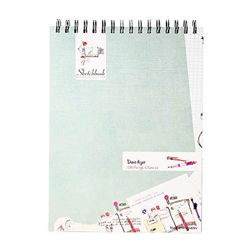 Haorw Cuaderno de bocetos, Cuaderno de bocetos de Acuarela, Cuaderno de Dibujo, Cuaderno de Dibujo, Pintura, Dibujo, Suministros de Artista, Cuaderno de Dibujo de Pintura, 1#