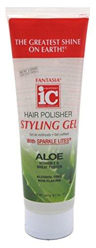 Fantasia Ic Polisseuse gel avec Sparkles 255 ml (pack de 3)