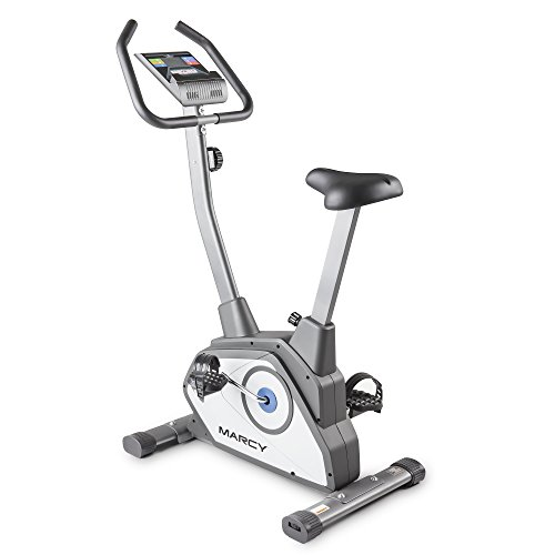 Marcy Magnetic Upright Bike With 8 Levels of Resistance NS-40504U