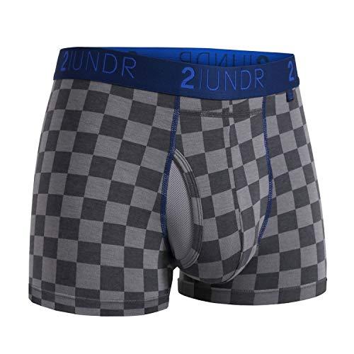 2UNDR Herren-Boxershorts, 7,6 cm, kariert
