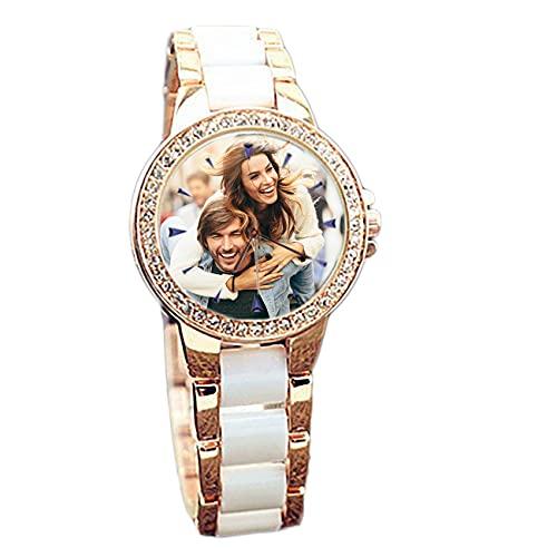 Reloj Personalizado Reloj Impermeable Reloj Fotográfico Reloj De Mujer Reloj Personalizado Reloj De Aleación Cumpleaños Boda Dama De Honor Mejor Regalo
