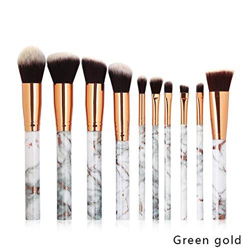 MEISINI Pinceau de maquillage pour la lèvre fard à paupières de maquillage de base de poudre de maquillage cosmétique réglé ou le sac