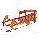 XX-Snow-Sleds Trineo de Hielo para niños de Madera Maciza para Trineo para Trineo para Coches de Hielo Snowboard de Madera Maciza