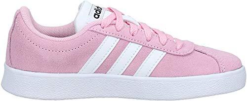 Adidas Vl Court 2.0 K, Zapatillas de deporte Unisex niños, Multicolor (Rosaut/Ftwbla/Negbás 000), 28 EU