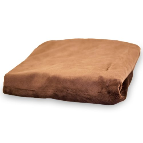 Rumble Tuff CV-CT-320-CH Compact Minky Silky Changement Pad Cover - Chocolat