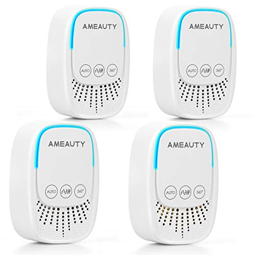 Ameauty Ultrasonic Pest Repeller, Insect Repeller Plug in 4 Pack Pest...