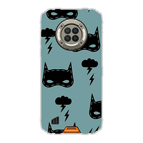 Todo Phone Store Funda Carcasa Personalizada Diseño Impresion UV LED Silicona Dibujo TPU Gel [Comics 009] para DOOGEE S96 Pro