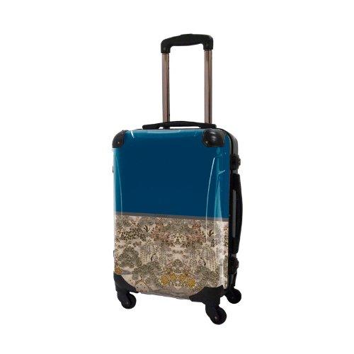 [キャラート] アート スーツケース 機内持込可 保証付 31L 57cm 3.2kg CRA01H-018B ネイビー ネイビー