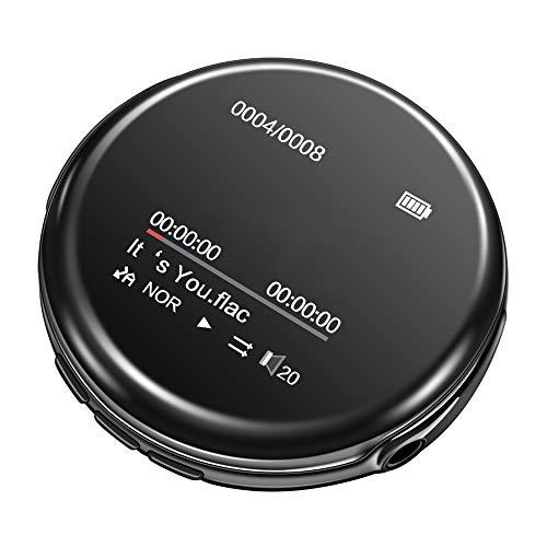 Andoer RUIZU M1 Portable MP3 MP4 Player 8GBPlayer Bluetooth 4.0 Tela TFT de 1,44 pol. Com Fones de ouvido de 3,5 mm Cordão Vídeo Rádio FM E-Book Gravador de voz