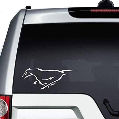 Ford Mustang Paard auto Sticker, Abstract Embleem Vinyl Auto Decal,Decor voor raam, Bumper, Laptop,Muren, Computer,thmbler,Mok, Beker, Telefoon,Vrachtwagen,Auto Accessoires