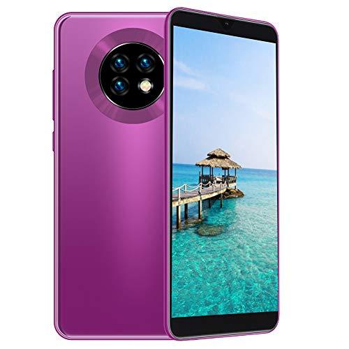 Goshyda Smartphone Desbloqueado, 3 + 32G 8MP + 13MP Pantalla de 6,1 Pulgadas Teléfono móvil de Doble Modo de Espera con función de desbloqueo Facial y batería de 4800 Mah(EU)