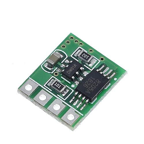Modulo electronico 2 Piezas De 3.7V 4.2V 3A Li-ion De Litio Cargador De Batería O'er De Carga De Descarga Protección Contra Sobrecorriente Junta Módulo DD04CPMA