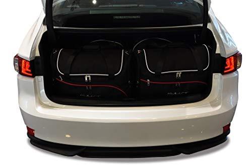 KJUST Kit de Bolsas 4 pcs Compatibles con Lexus IS 2013 - Dedicadas Car Bags