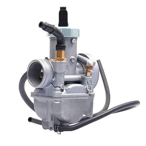 Domilay Carburador de Motocicleta para Moto para ZY100 Jog 100, RS100 RSZ 100 100Cc, Ciclomotor, Filtro de Aceite