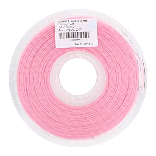 Ginyia 3D Printer Parts 3D Printer Filament No Blister 1.75mm Filament PLA No Interference Color Change for 3D Printers