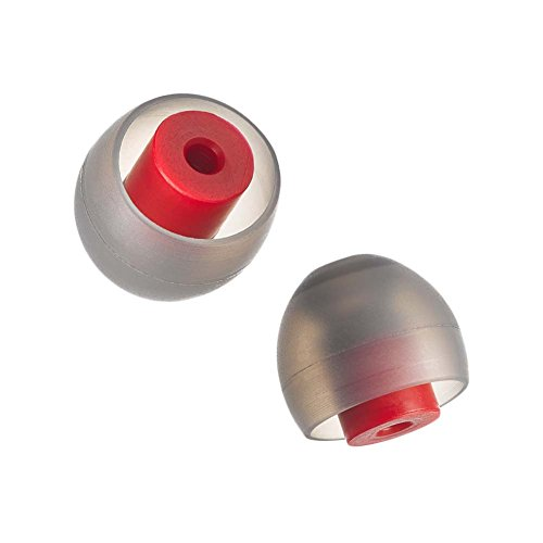 SpinFit CP800 for Thin IEM Nozzle- M - Patented Silicone Eartips for Replacement (2 Pairs) (for Nozzle diamter from 3-3.5mm)