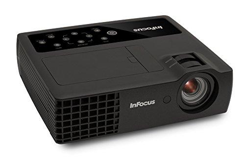 InFocus IN1118HD 1080p DLP Portable Projector, HDMI, 3.5 lbs, 4GB Storage, 2400 Lumens