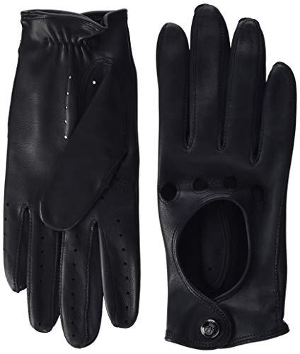 Roeckl Unisex Classic Driver Deer Hirsch - Nappaleder Handschuhe, Schwarz (Black 000), 6.5