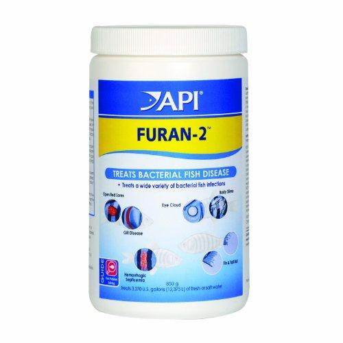 API FURAN-2 Fish Powder Medication 30-Ounce Bulk Box
