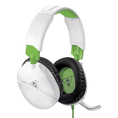 Turtle Beach Recon 70X Auriculares Gaming Xbox One, PS4, PS5, Nintendo Switch Y PC, Blanco