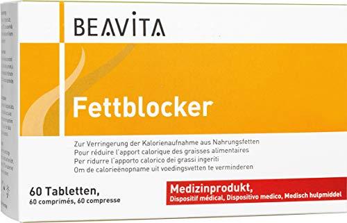 BEAVITA Fettblocker - 60 Tabletten - nachgewiesene hohe Fettbindekraft - Unterstützung für ihre Diät - 100% pflanzlicher Wirkstoff - Abnehmen mit Fettbinder Tabletten - aus Fruchtfaserkomplex Baobab