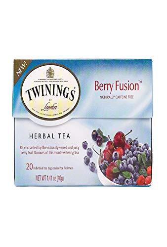 Twinings Berry Fusion Herbal Tea, 20 Bags Single Box