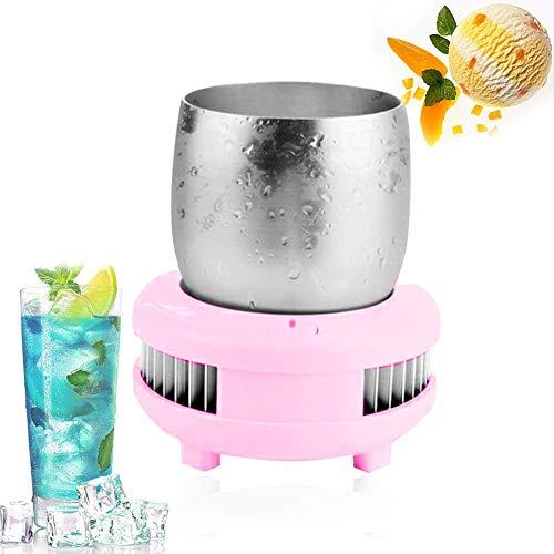 Justinzz Cupcooler Snel koud drankzetapparaat, snel afkoelende kop, desktop-mini-koelkast.