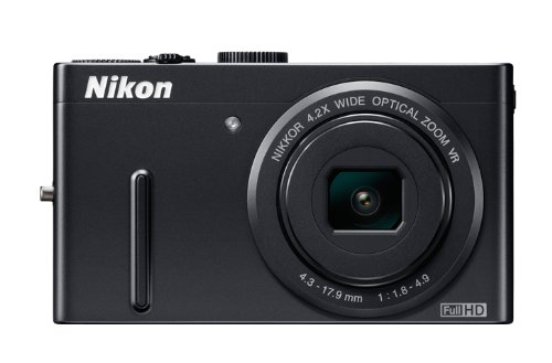 Nikon Coolpix P300 Digitalkamera (12 Megapixel, 4-fach opt. Zoom, 7,5 cm (3 Zoll) Display, Full-HD Video) schwarz