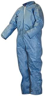 Kimberly-Clark® Medium Blue XL Pack of 25 Kimberly-Clark 45314 KleenGuard A65 Flame Resistant Coveralls
