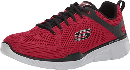 Skechers Equalizer 3.0-52969, Men's Low Top Trainers, Red (Red Black Rdbk), 7 UK (41 EU)