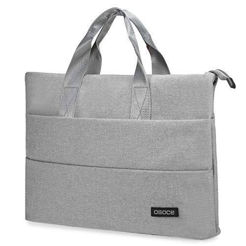 Laptop Bag Women Men Water Resistant Notebook Handbag Fits Max. 15.6 Inch Laptop