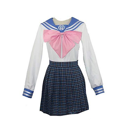 K.CS Danganronpa Maizono Sayaka Cosplay de Alta Escuela Uniforme del Marinero del Vestido para la Mujer