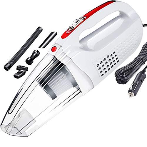 NXYJD Wet Dry Vacuum Cleaner Vacuum Cleaner Coches con máquinas manuales Aspiradora for Autos portátiles Aspiradoras Limpiadores (Color : White)