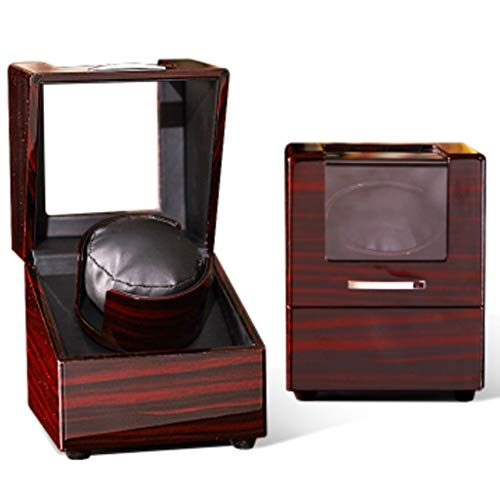 Automatic Watch Winder Box Watch Winder Auto Dual Watch Winders Leather Storage Display 2 Watch Winder Case Automatic Rotation Winders