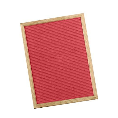 PETSOLA Tischplatten Tafel Zeichen Hängende Wand Tafel Gestell Küchenarbeitsplatte Protokoll Brett - rot