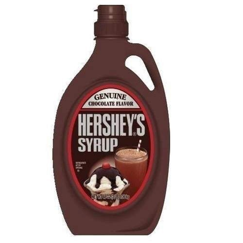 Hershey's Chocolate Syrup Bottle Quarter Module, 48-Ounce (Pack of 4)